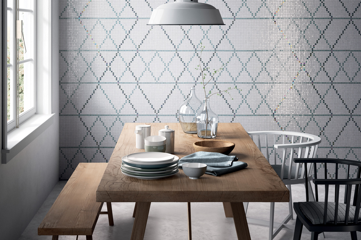 mosaico. Black Bedroom Furniture Sets. Home Design Ideas